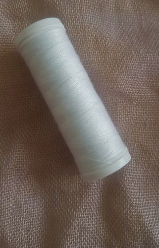 sewing thread white
